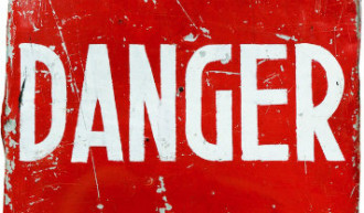 """Image of the word """"Danger"""""""